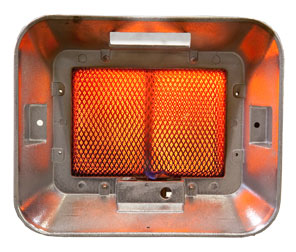 Infrared Gas Fired Heaters Used For Heating Large Spaces